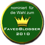 Faved Blogger Nominierung
