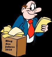 Wahl zum Blog des Jahres 2010