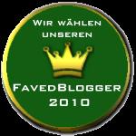 FavedBlogger 2010 – Abstimmung
