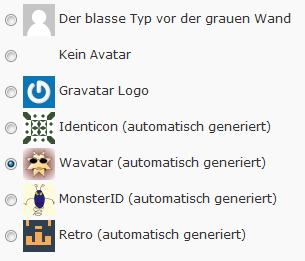 Standardavatar in WordPress auswählen